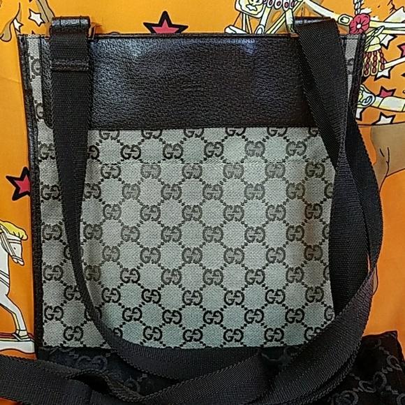 40a1b6438 Gucci Bags | Authentic Gg Monogram Crossbody Bag | Poshmark
